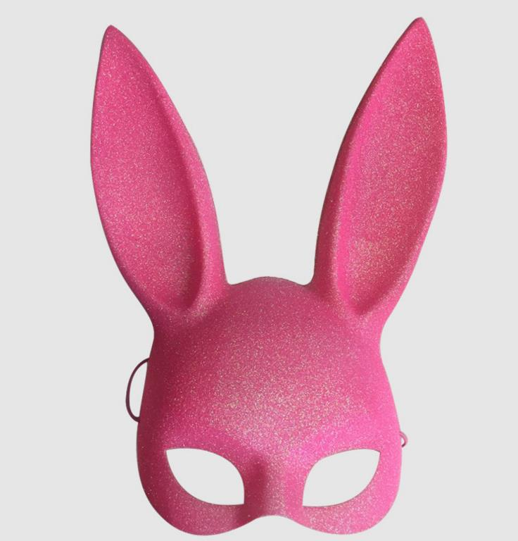 Easter Bunny Rabbit Ear Mask Sexy Women Hen Night Fancy Dress Costume Carnival Party Masks Nightclub Performances Props colorful chifres malevola png