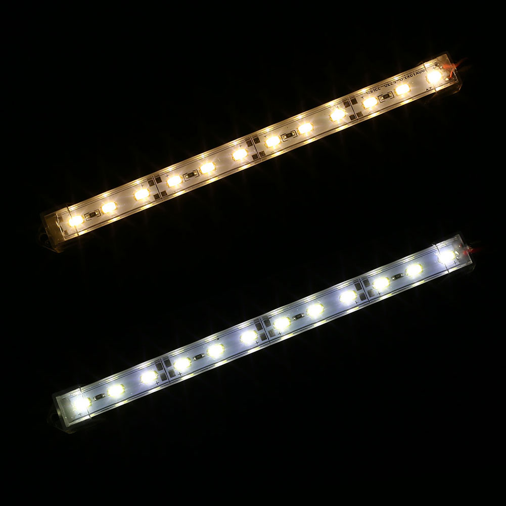 5630 12LED 1M Long Clip Wire Light Strip Lighting Fixture Warm White/White DC12V super bowl ring 2019
