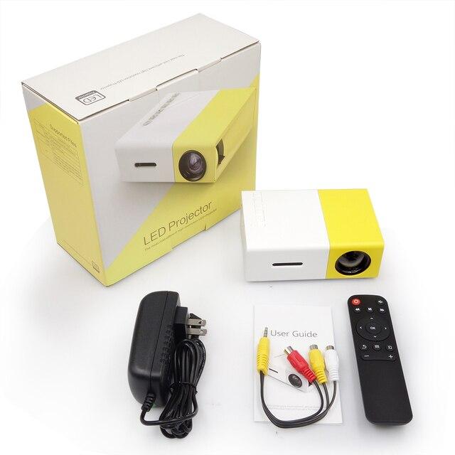 Mini Portable HD Pocket Projector 6