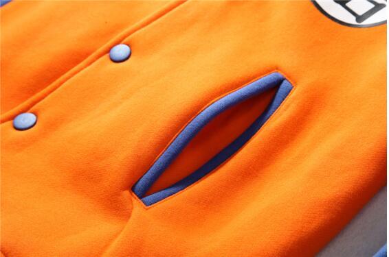 Dragon Ball Z Baseball Jacket