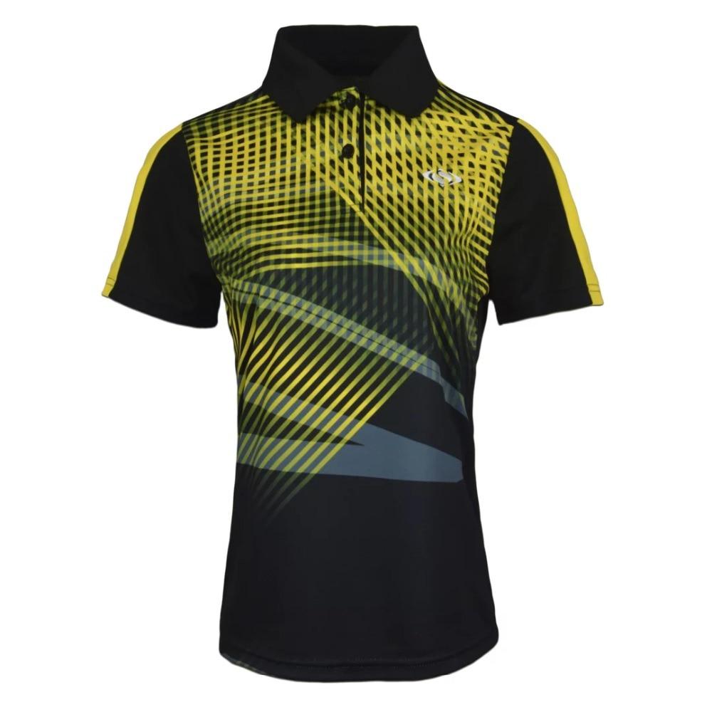 2017 Men Sportswear Quick Dry badminton shirt ,Men running badminton table tennis shirt table tennis clothes Sport POLO T Shirts