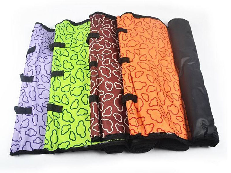 CAWAYI KENNEL PVC Waterproof Small Pet Dog Cat Car Seat Cover Mat Blanket Rear Back Dog Car Seat Protection Hammock D0041 4