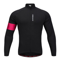2018 new arrival thermal fleece cycling jacket men women chaqueta ciclismo invierno bicycle riding clothing winter wind jacket