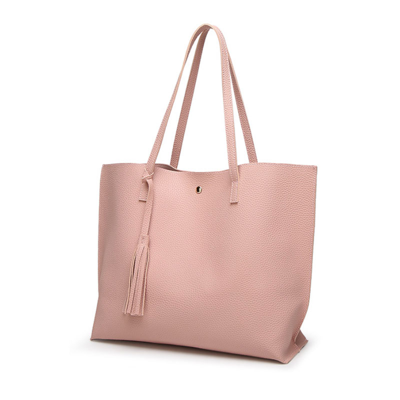Ankareeda Luxury Brand Women Shoulder Bag Soft Leather TopHandle Bags  Ladies Tassel Tote Handbag High Quality Women s Handbags-in Shoulder Bags  from Luggage ... 678b80532