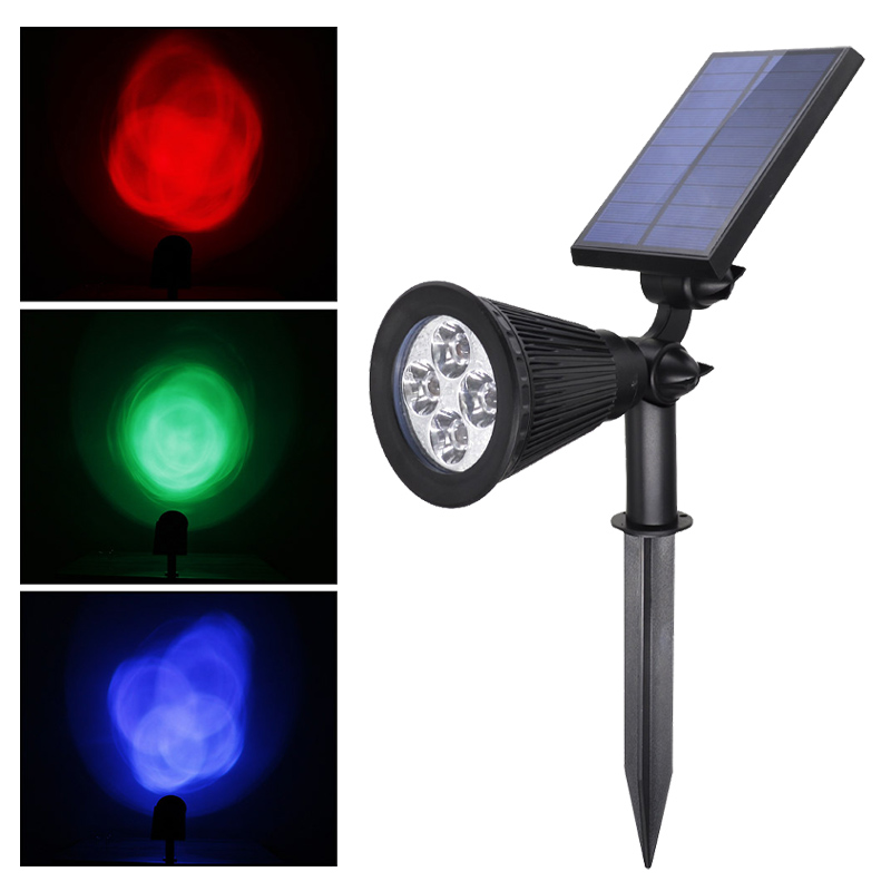 High quality LED Waterproof Lawn Light with Solar panel outdoor courtyard garden floor decoration
