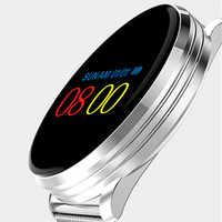 Smartwatch hartslag Bloeddruk Smart Armband Touch Kleurenscherm LED Polsband Smartwatch Ondersteuning Android/IOS Telefoon Horloge