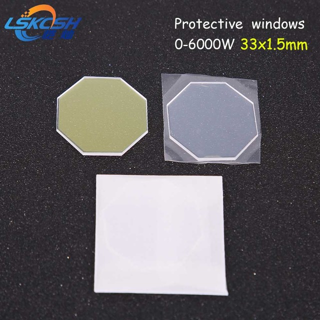 US $500 0  LSKCSH fiber laser protection mirrors 33*1 5mm for Amada fiber  laser cutting machines 0 6000W laser replacement parts wholesale -in Lenses