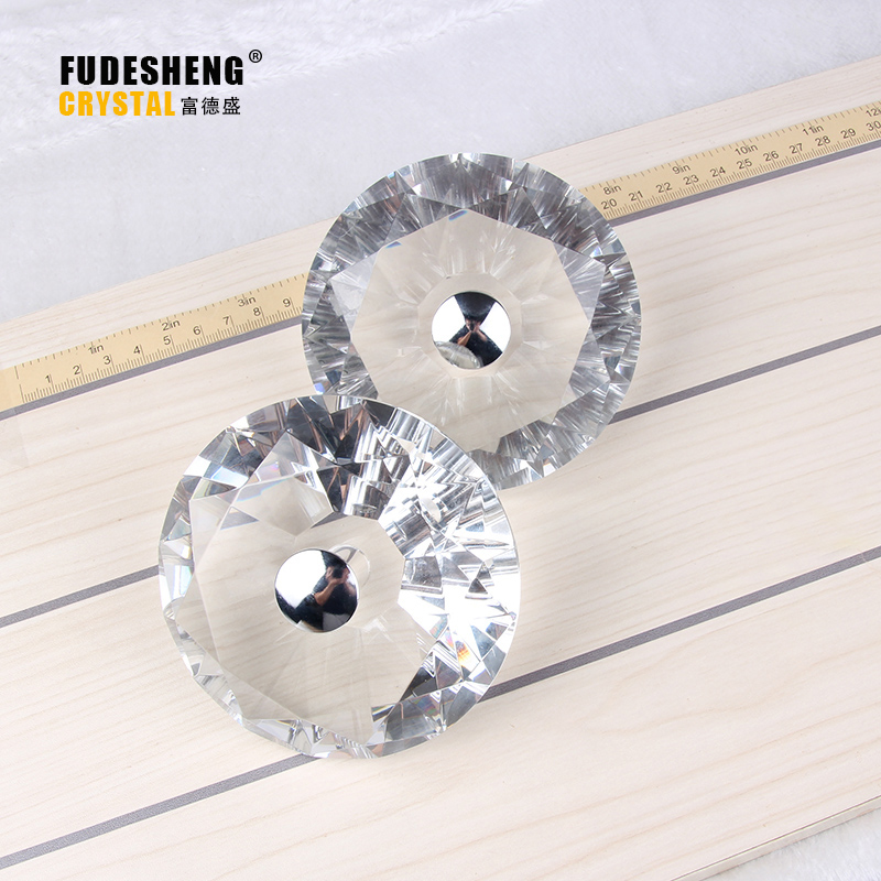 100mm Crystal Clear Bathroom Glass Door Knob Handle Modern Home Decoration Hardware Accessories european modern bronze doors handle chinese antique glass door handle door handle carving