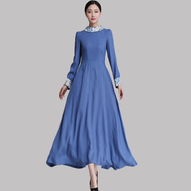 Online Get Cheap Blue Cotton Dresses -Aliexpress.com  Alibaba Group