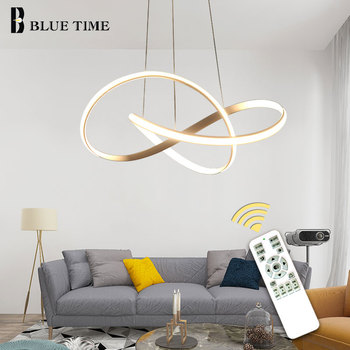 Ouro & White & Black Terminou Moderno Lustres LEVARAM Para Sala De Estar Sala De Jantar Cozinha Quarto Casa Lustres LED AC 110V 220V