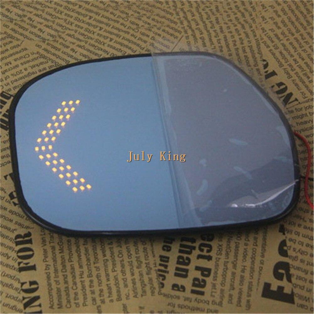 Varthion случае объектив зеркала заднего вида для Honda города 2009~13, синий зеркало заднего вида, светодиодные поворотные огни, тепло,обдув, большое поле зрения