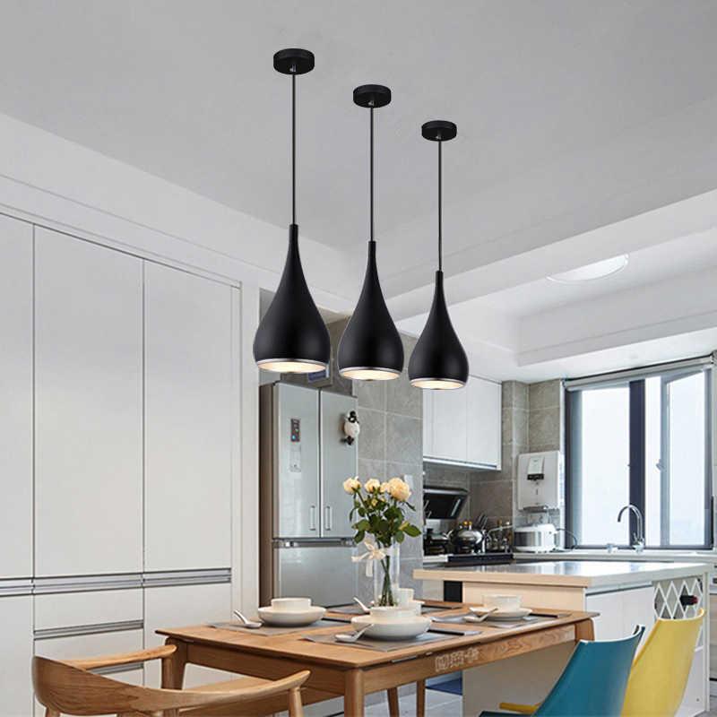 Bar Modern Pendant Lighting Black