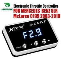 Potente Reforço Acelerador Acelerador Eletrônico velocidade do carro Controlador de Corrida Para MERCEDES BENZ SLR McLaren C199 2003 2010 5.4 L V8|Controlador do Acelerador eletrônico do carro| |  -
