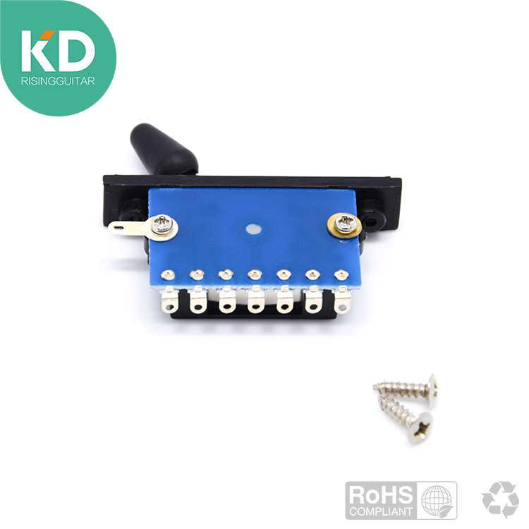 באיכות גבוהה כחול 3 דרך מתג טנדר לגיטרה חשמלית איבנז, ST, TL גיטרה החלפת גיטרה חלק accessery