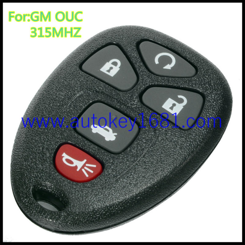 Replacement Remote Case Button Pad Pink OUC60270 Cadillac Chevrolet GMC