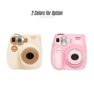 Image 2 - Fujifilm Instax Mini Film caméra Mini7c Mini 7C appareil photo instantané moins cher que Instax mini8 mini9 anniversaire noël nouvel an cadeau