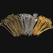 US $1.34 10% OFF New Fashion 470pcs/lot 24mm Gold/Brown/Silver Eye Pins&Needles Metal Beads Findings For DIY Jewelry Making,Head Pins Needles-in Jewelry Findings & Components from Jewelry & Accessories on Aliexpress.com   Alibaba Group