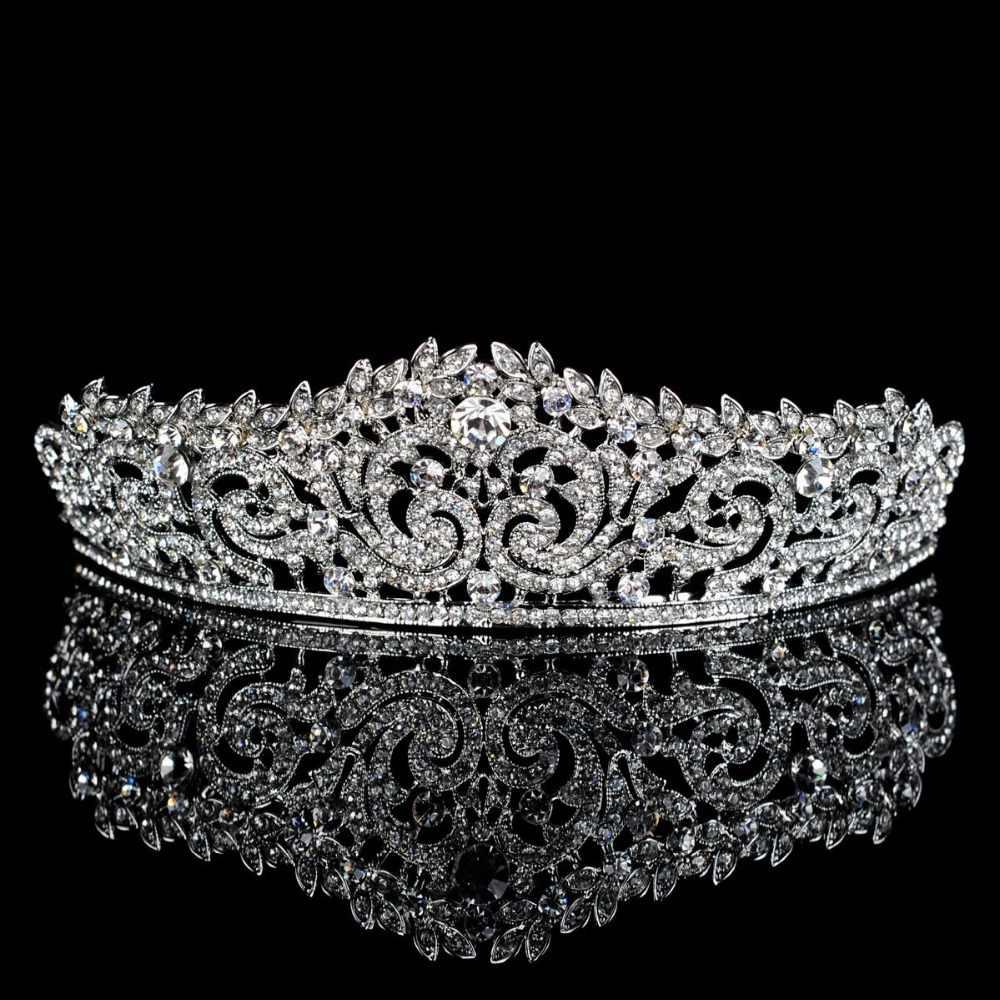 Top wedding R Hinestonesหูฟังเจ้าสาวแต่งงานT Iaraมงกุฎ,ผู้หญิง
