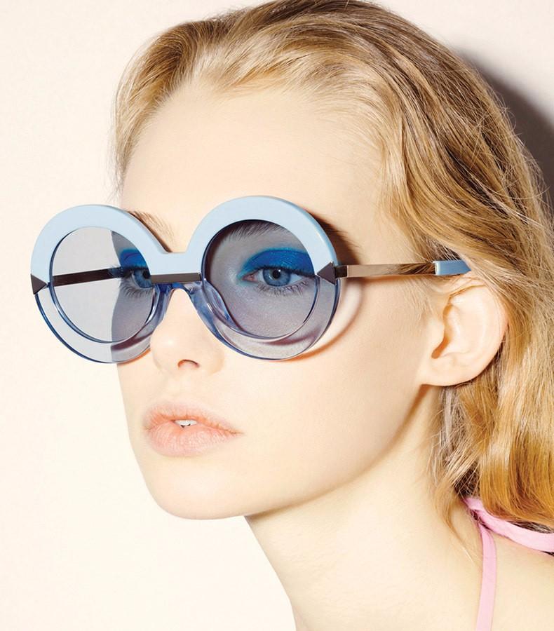 круглые очки голливуд со стрелкой фото