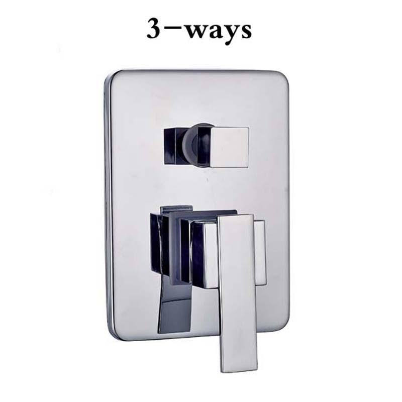 Free Shipping 3 Ways Diverter Shower Valve Bathroom Wall