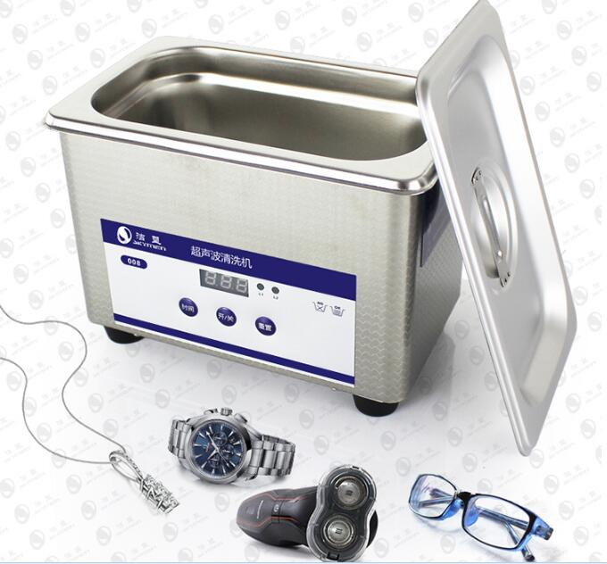 2016 New Arrival Dental Laboratory Equipment 800 mL Digital Ultrasonic Jewelry Clean Bathroom Glass Cleaning Equipment dental laboratory equipment 800ml digital ultrasonic bath jewelry glass cleaner cleaning equipment