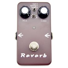 Reverb Effects Pedal Electric guitar effect pedals Hall Spring Room modeTrue bypass free shipping