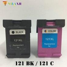 For HP 121 121xl ink Cartridge For HP121 xl Deskjet 1050 2050 F2560 F2568 F4280 F4238 F5150 D2460 F2180 F4140 F4172 F4180 D1460 картридж с чернилами uniprint 2 121xl hp 121 xl hp deskjet 2050 1050 f2480 f2492 for hp121