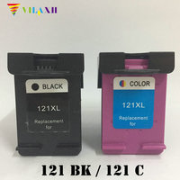 Vilaxh 121 xl Compatible Ink cartridge Replacement for HP 121xl For Deskjet 1050 2050 F2560 F2568 F4280 F4238 F2180 Printer