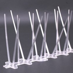 UV Proof Plastic Polycarbonate Bird Spikes,Pigeon Spikes Kit ,Set of 12(12x25cm)
