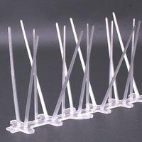 UV Proof Plastic Polycarbonate Bird Spikes,Pigeon Spikes Kit ,Set of 12(12x25cm)