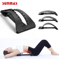 Back Massage Stretcher Stretching Magic Lumbar Support Waist Neck Relax Mate