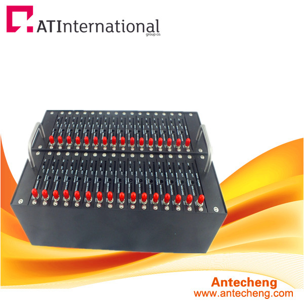 Promotional Low Price 32 port modem pool, GSM 32 port sms modem pool support IMEI change with quad band 850/900/1800/1900MHz