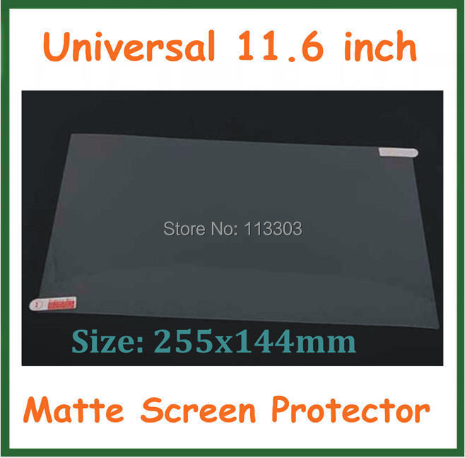 100pcs Universal Anti-glare Matte Screen Protector 11.6 inch Protective Film for Tablet PC Monitor Laptop Notebook Computer