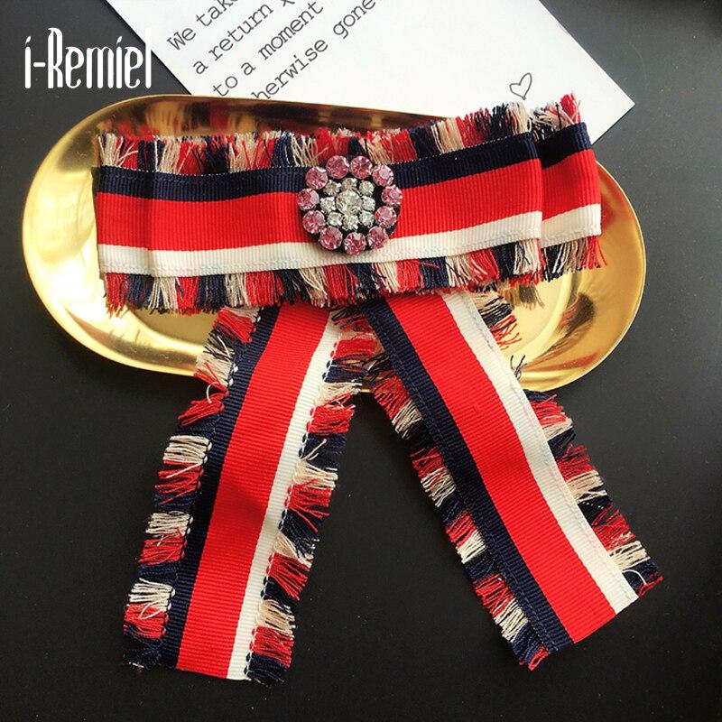 i-Remiel Zinc Alloy Trendy Hot Sale 2017 Broche Pin Brooches For Women New Winter Joker Brooch Shirt Collar Accessories Lady