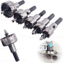 4 pics Sharp Teeth HSS  Metal Hole Saw Pilot Drill Bit 12/16/22.5/25.5MM  with Wrench pics