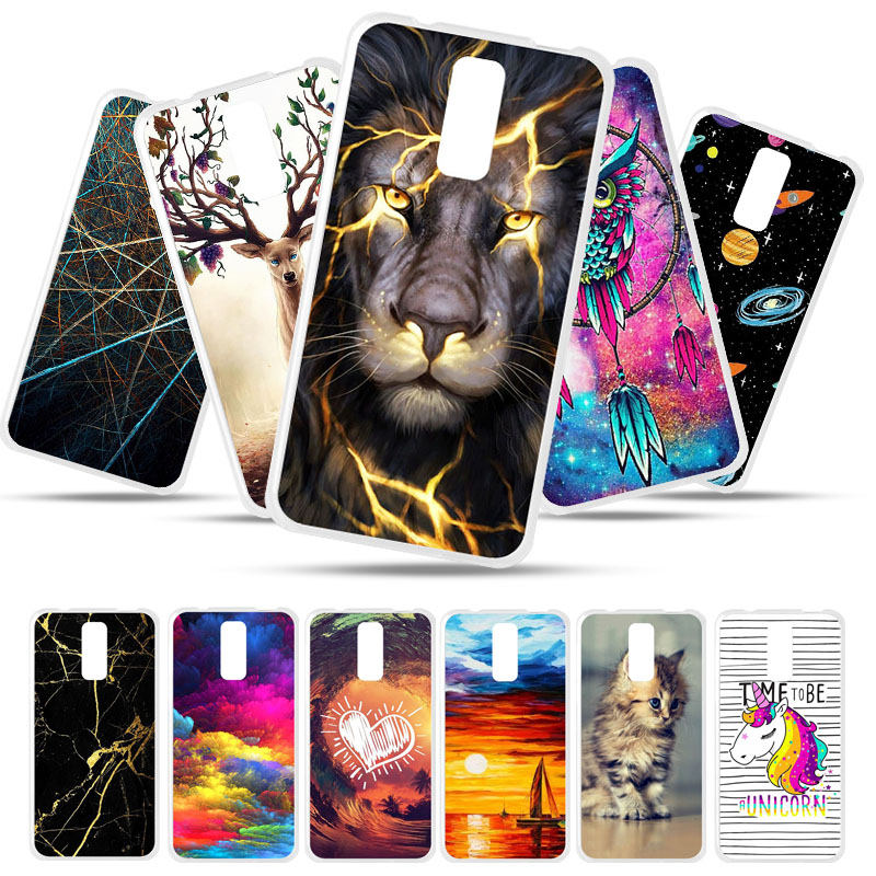 Bolomboy Painted Case For <font><b>BQ</b></font> <font><b>5520</b></font> Case Silicone Soft TPU Cases For <font><b>BQ</b></font> <font><b>BQ</b></font>-<font><b>5520</b></font> <font><b>BQS</b></font>-<font><b>5520</b></font> <font><b>Mercury</b></font> Cover Wildflowers Animal Bags image