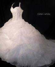 free shipping 2013 custom size kate embroidery chiffon dress lace famous designer cinderella crystal wedding