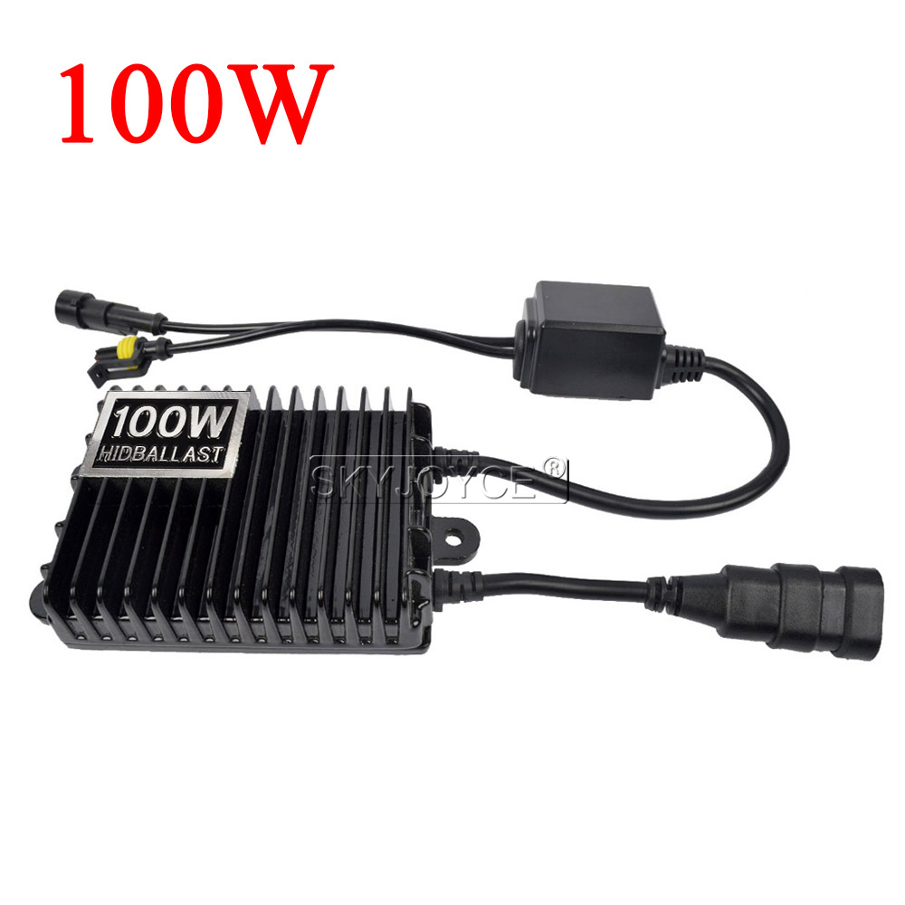 SKYJOYCE 12V 75W 100W 150W AC Digital Electronic Ballast Blocks for Xenon Headlight Lamp H1 H3 H7 H11 9005 9006 HID Xenon Bulb (19)