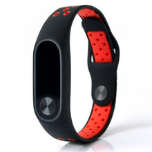 Watch Band Wrist band Wristband Women Men Bracelet Double Color Silicone Strap Smart Wristband Bracelet for Xiaomi Miband 2 P5