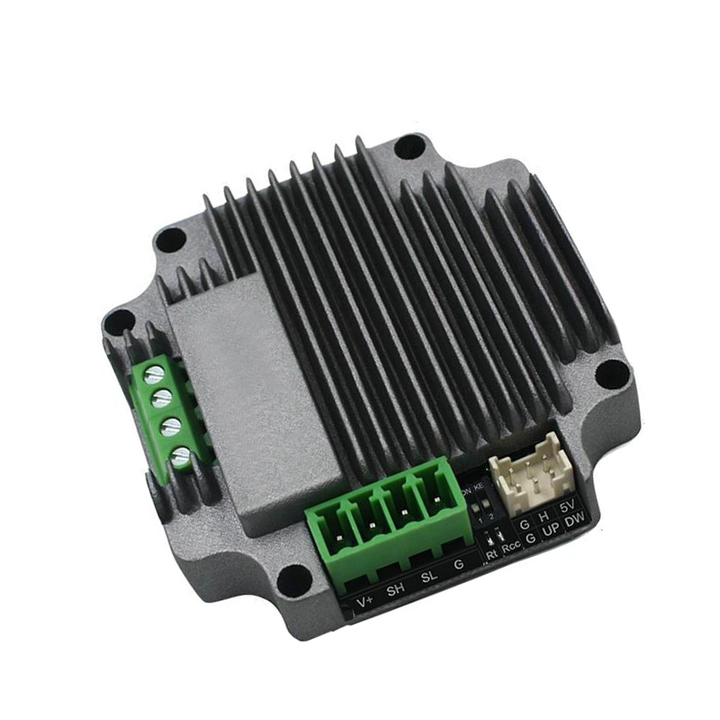RS485 bus type stepper motor driver, computer PLC command control, 128 subdivision stepper motor drive toothed belt drive motorized stepper motor precision guide rail manufacturer guideway