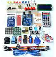 Free Shipping Upgraded Advanced Version Starter Kit the RFID learn Suite Kit LCD 1602 for WAVGAT UNO R3