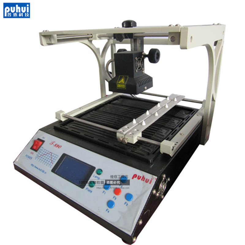PUHUI T-890 T890 BGA Double Digital Infrared BGA/IRDA/IFR/SMD/SMT WELDER Basic 1500W Eight kinds of temperature curve tms320f28335zjza tms320f28335 bga