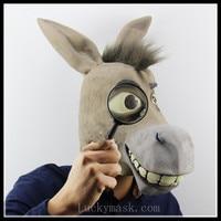 Shrek, donkey and COS dance props Halloween Ghost horse head animal mask set