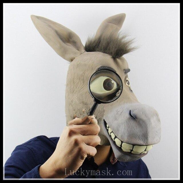 Shrek, âne et COS accessoires de danse Halloween Fantôme cheval tête d\u0027un  animal