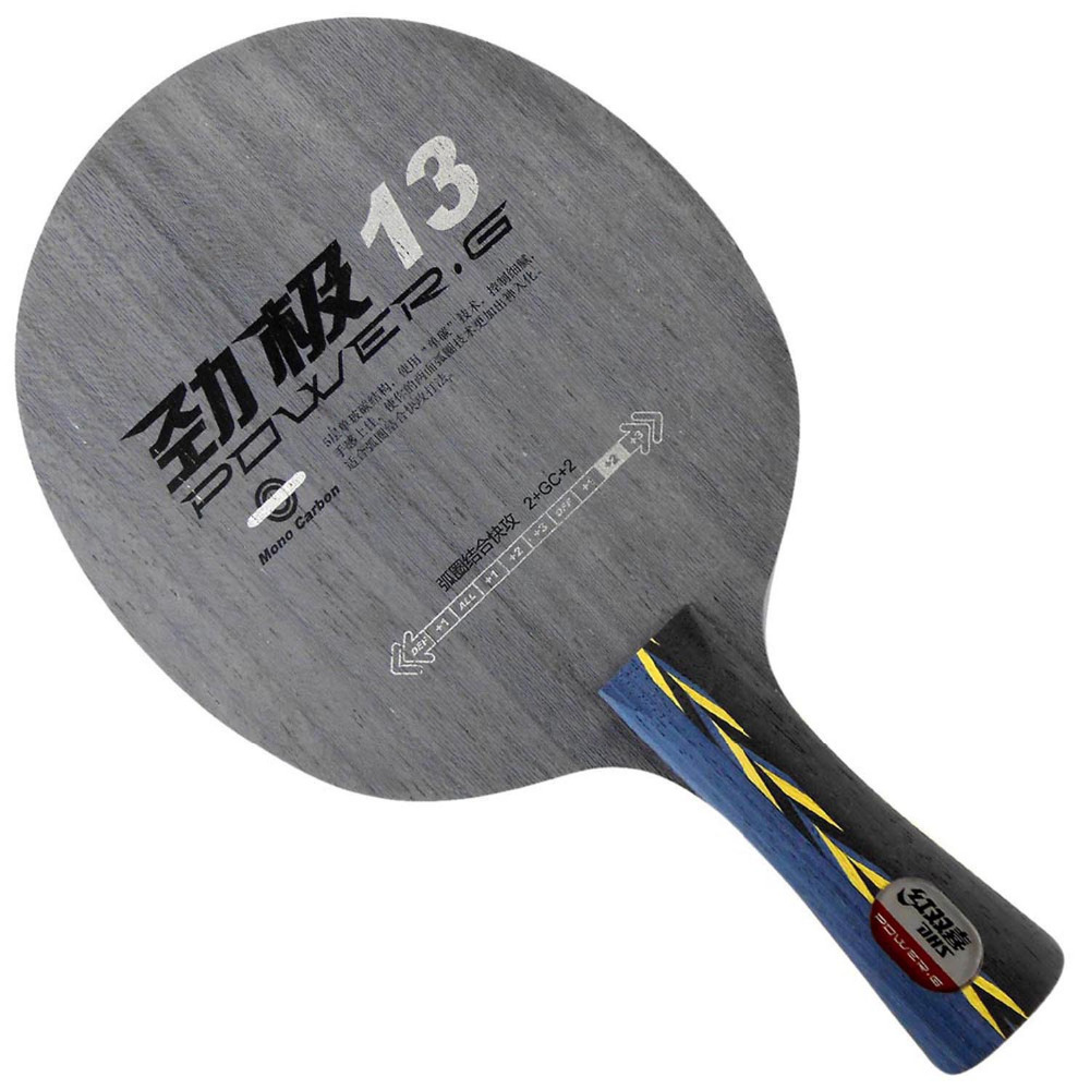 ФОТО DHS POWER.G13 PG13 PG 13 PG.13 Mono-Carbon OFF++ Table Tennis Blade for Ping Pong Racket