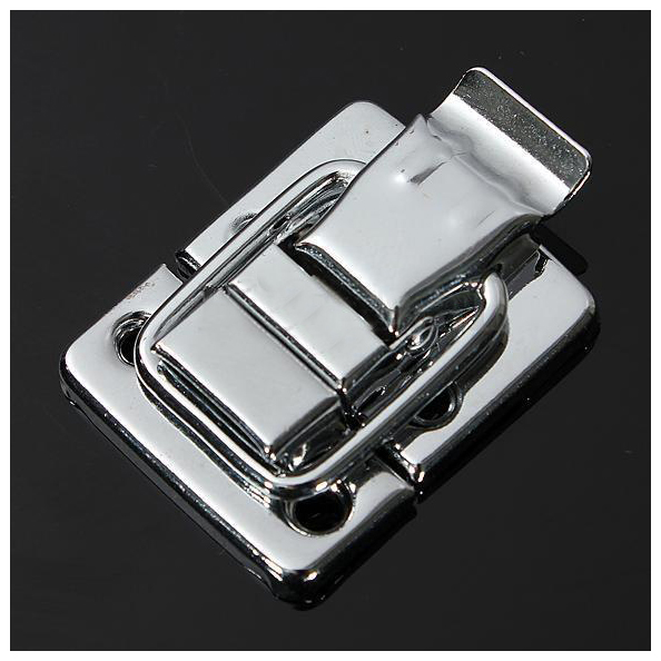 6Pcs Fastener Toggle Latch Catch Chest Case Suitcase Boxes Chests Trunk Lock