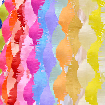 5cm*3M garland tinsel Party Streamers Tissue Paper Garland DIY Fringe Curtain Banners Backdrop Wedding Decoration