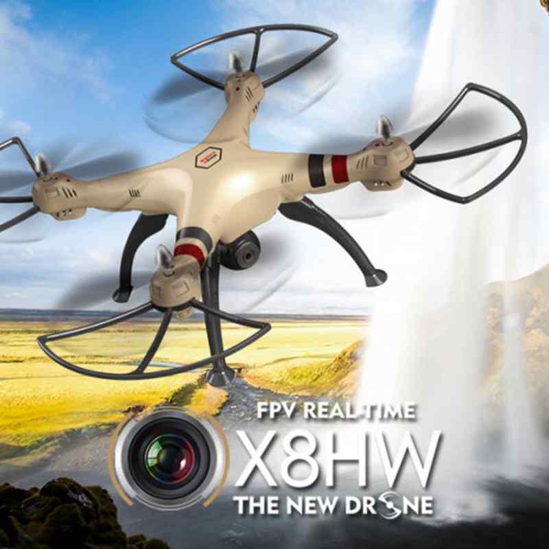 SYMA Doen X8HW aéronef sans pilote (UAV) professionnel avec WIFI FPV 2.4G 4CH RC hélicoptère Drones HD caméra quadrirotor SYMA X8C X8G X8W mise à niveau