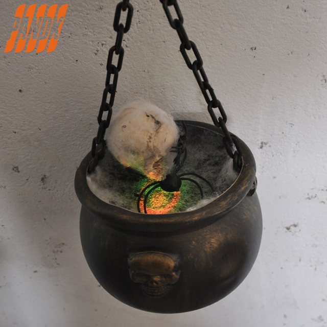 Skull Bowl Halloween Witch Halloween Decorations Witches Props
