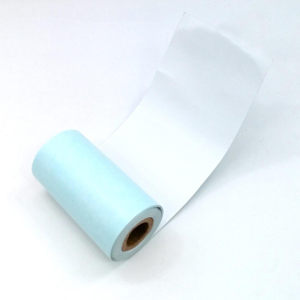 3 рулонов 57x30 мм Самоклеящиеся Термальность бумага для наклеек для Бумага анг P1 принт четко